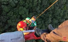 Rescatados dos senderistas en Monte Buciero