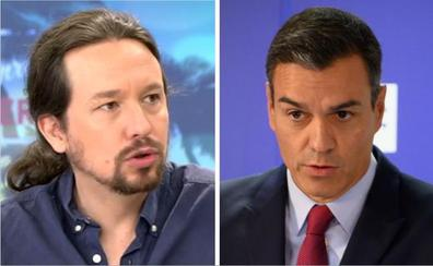 Sánchez e Iglesias ahondan sus diferencias antes de la reunión de los negociadores