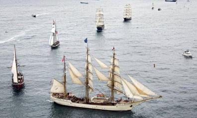 El Sardinero será testigo de un ejercicio de rescate dentro del Festival del Mar
