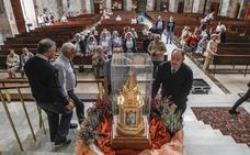 Cantabria recibe las reliquias de santa Bernadette