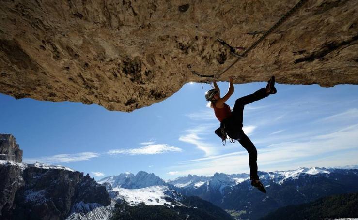 Angelika Reiner, una escaladora de altura