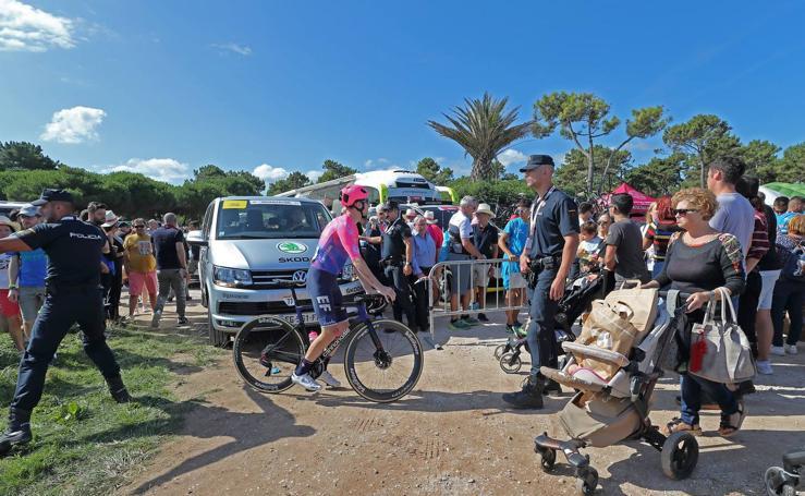 La Vuelta, en San Vicente
