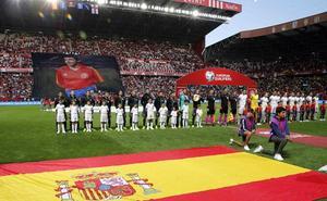El homenaje a Quini se recordará por el récord de Ramos