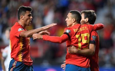 España se inspira en el Brujo para perseverar y golear