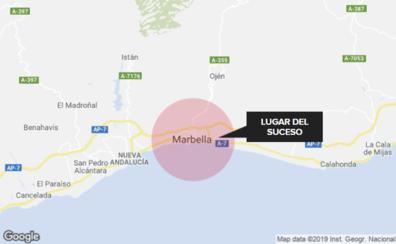 Detenido por matar a un hombre de una puñalada en Marbella