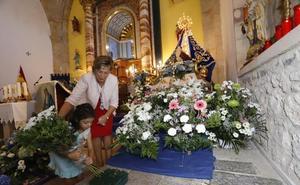 San Vicente engalana a su Patrona