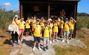 Astillero y SEO Birdlife programan actividades de educación ambiental para los escolares del municipio