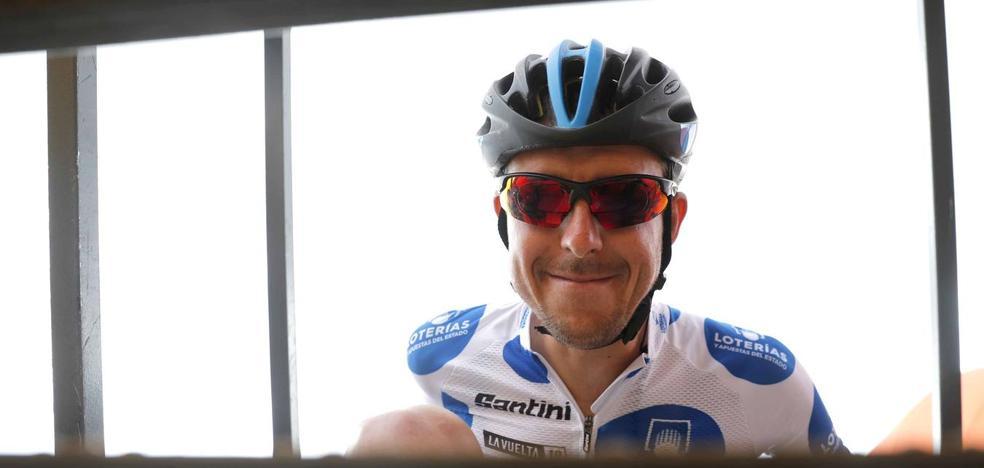 Ángel Madrazo pierde el maillot de la Montaña, pero anuncia batalla en lo que resta de Vuelta