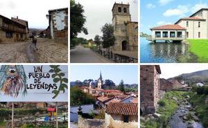 Seis candidatos a pueblo de Cantabria