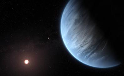 Descubren por primera vez agua en la atmósfera de un exoplaneta potencialmente habitable