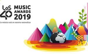 Okuda diseña la imagen de Los 40 Music Awards 2019