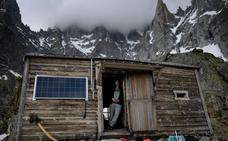 Sarah, la guardesa del glaciar de Charpoua