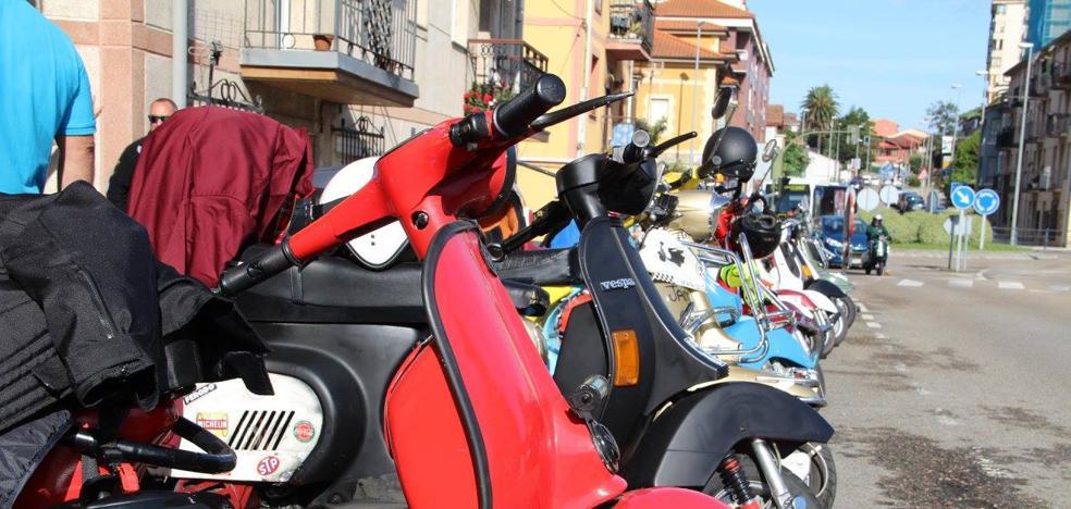 Astillero acogerá este fin de semana la Scooter Rally Cantabria '¿A qué no llueve?' para lambrettas y vespas