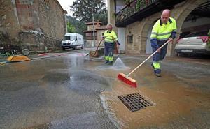 Cabuérniga reclama soluciones contra las riadas durante la tregua de las lluvias