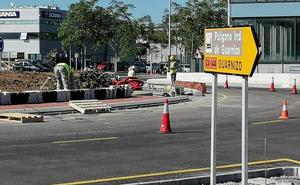 Las obras en la carretera que unirá Guarnizo y Morero concluirán el 30 de noviembre
