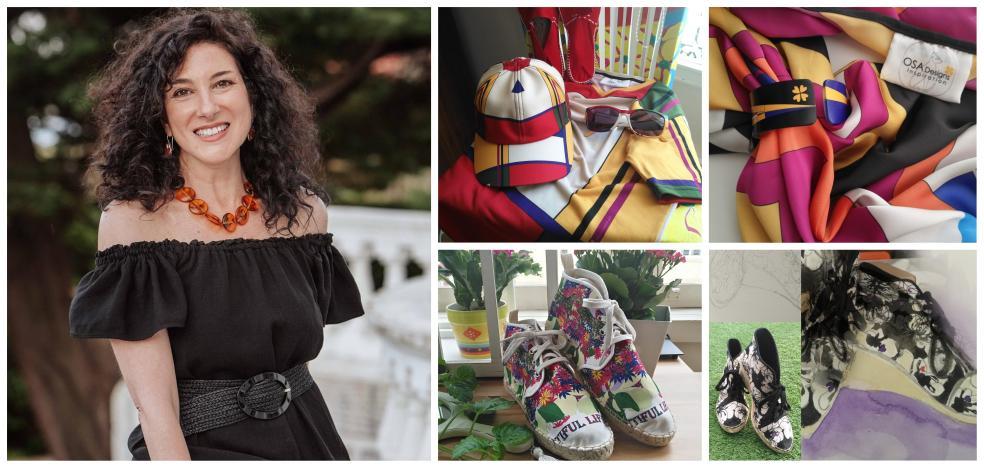 Osa Designs, la firma de moda cántabra que nace entre pinceles