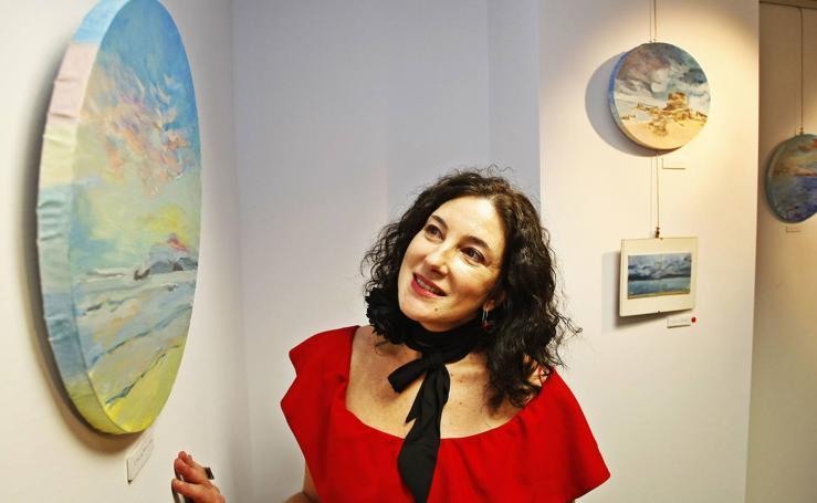 La trayectoria de Claudia Iza en Cantabria, en imágenes