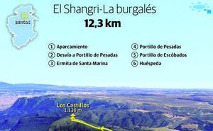 Las otras murallas de Oña: Santa Marina (1.155 m.) y Los Castillos (1.141 m.)