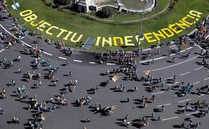 El independentismo se aferra a la respuesta de la sentencia para tratar de recobrar el pulso en la calle