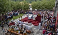 Fiesta de la Bien Aparecida en Hoz de Marrón