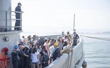 Santander y su mástil de semáforo marítimo «único»