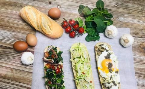 Cocina en casa estos tres saludables y sabrosos bocadillos