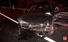 Cuatro heridos en un accidente en el que se han visto implicados ocho vehículos en Ribamontán