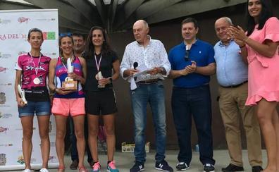 Manuel Vega y Elena Villanueva se proclamaron campeones regionales de duatlón cross