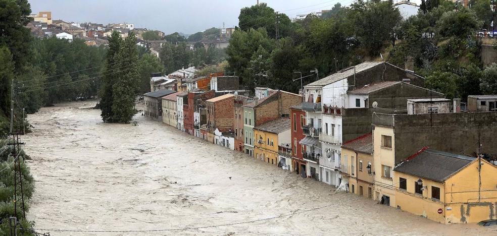Las rarezas de la DANA del norte que inundó el sureste de España
