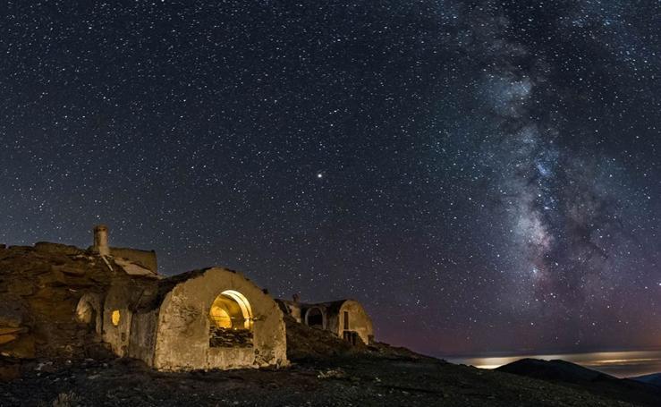 El refugio de Elorrieta, en Sierra Nevada