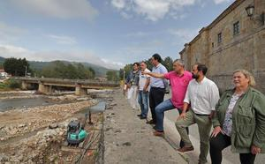 Los alcaldes del Saja, unidos contra las riadas