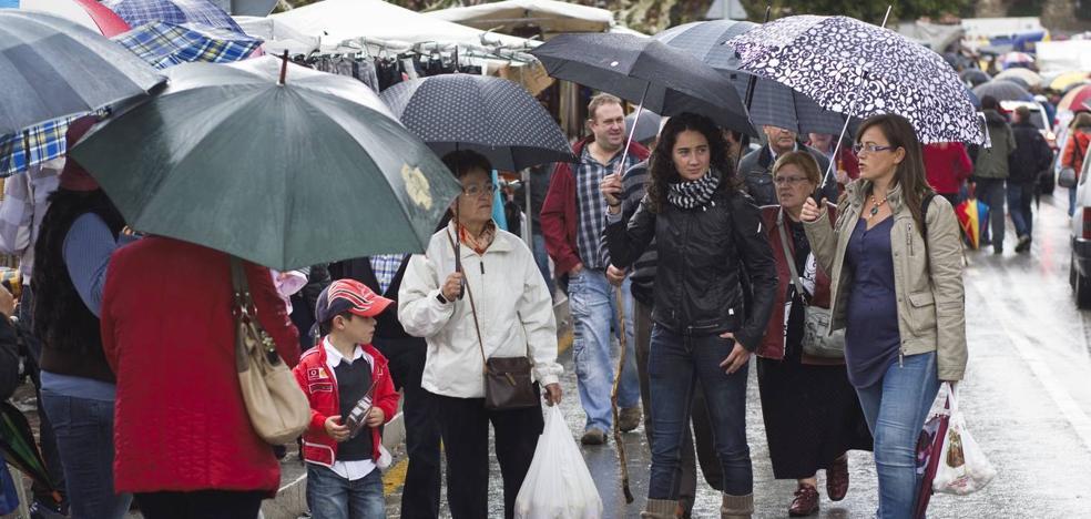 El riesgo por lluvias y tormentas en Liébana se amplía hasta mañana