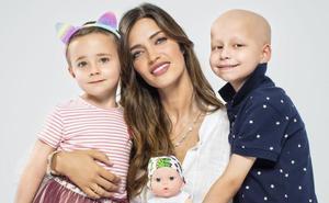 Sara Carbonero visibiliza el cáncer infantil con un emotivo diseño