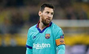Ni Ter Stegen arranca una sonrisa a Messi