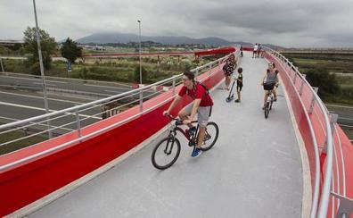 La obra del carril bici Camargo-Santander se incluirá en los Presupuestos de 2020