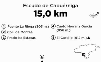 Ruta por El Castillo (263 m.), entre Cabezón y Valdáliga