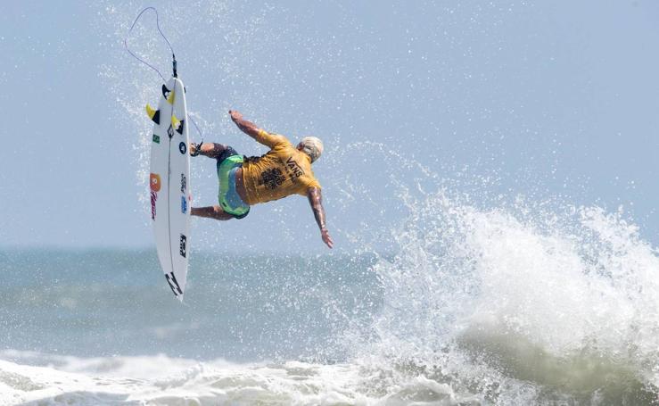 Las mejores imágenes del Mundial de Surf en Japón