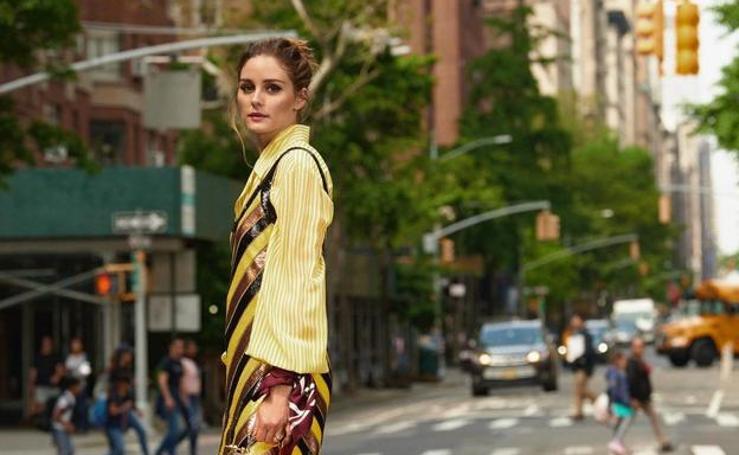 Vestidos de tirantes en septiembre y todo lo que Olivia Palermo consigue con una camisa