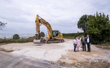La nueva glorieta de Polanco abre la urbanización de la Finca Mijares