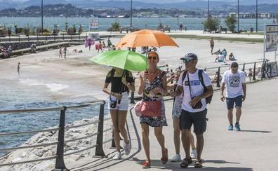 Santander registra la temperatura más alta de España, 30,6 grados