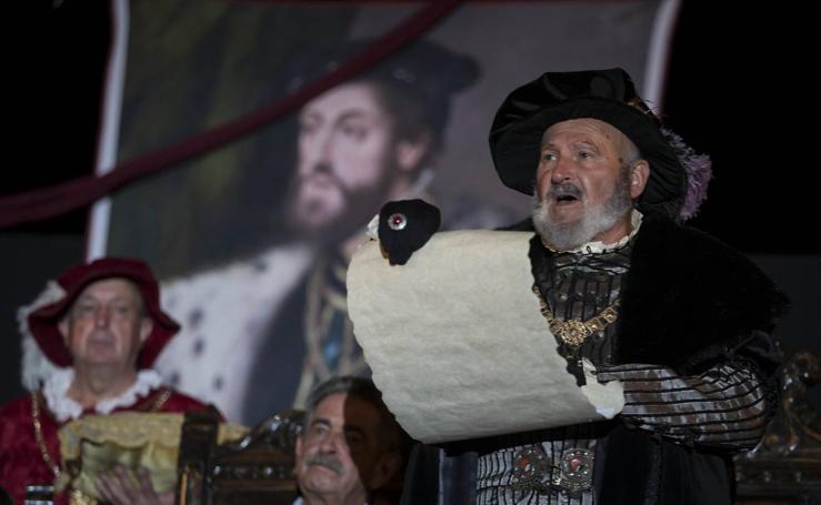 Laredo vuelve a recibir la visita de Carlos V