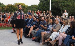 La moda de Odette Álvarez reinó en el Palacio de La Magdalena