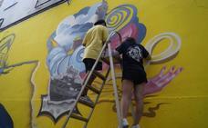 'En zona joven' lleva a El Astillero talleres grafiti, defensa personal y cocina
