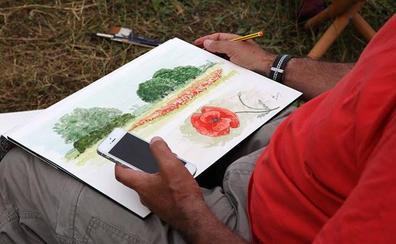 Noja acoge nueva edición de 'Museo Vivo' para aprender a dibujar naturaleza