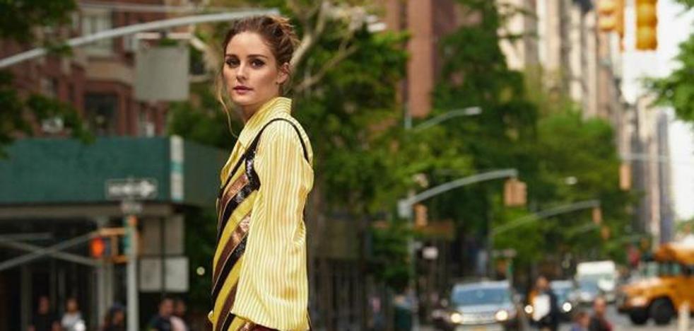 Vestidos de tirantes en septiembre y otros trucos de Olivia Palermo