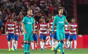 El Barcelona se vuelve mediocre a domicilio