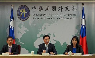 Taiwán pierde el reconocimiento de dos países en una semana