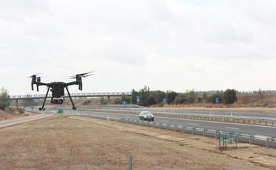 Los drones de la DGT ya sobrevuelan la A-67