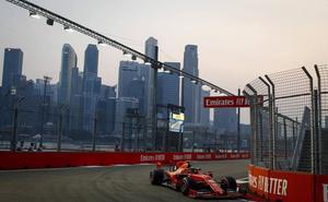 Leclerc quiere hacer buena la 'pole' conseguida en Singapur