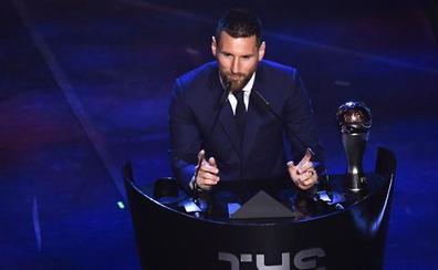 Messi regatea a Van Dijk y se lleva 'The Best'